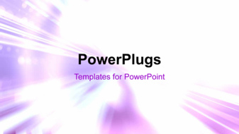 PowerPoint Template - An abstract energy background